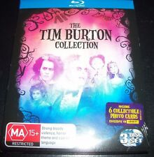 Beetlejuice/Sweeney Todd/Corpse Bride Tim Burton Collection (Aus Reg B) 3 Bluray
