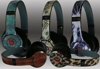 Any 1 Vinyl Skin for Beats by Dr. Dre Solo 2 (2014) 2nd Gen Skin - Free Shipping