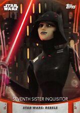 Women of Star Wars (2020) ORANGE PARALLEL BASE #76 / SEVENTH SISTER INQUISITOR