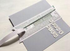 Stanzschablone/ Cutting dies zipper Überraschung Versteck geeignet für Big Shot