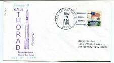 1968 Pioneer 9 Thorad Agena-D Eastern Test Range Cape Canaveral NASA USA SPACE