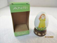 Anri 1981 Annual Egg, fourth in series by Ferrandiz, style 624-381