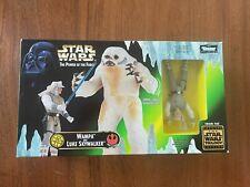 Kenner Star Wars Wampa with Luke Skywalker in Hoth Gear Power Force 1998