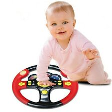 Children's Steering Wheel Toy Baby Childhood Educational Driving Simulation SO