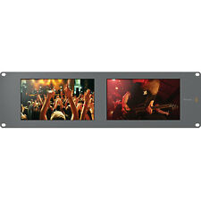 Blackmagic Design SMARTVIEW Duo Dual 8 pulgadas monitores de Rack Lcd SDI