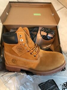 New With Box Wheat Timberland Boots US Men's Size 10