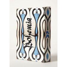 $ Bohemia Edition Blue MISPRINT Playing Cards Deck UUSI Rare New Sealed $