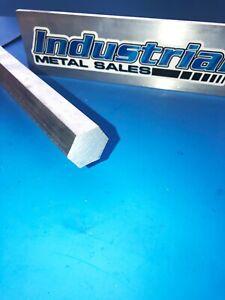 """1"""" x 6061 Aluminum Hex Bar x 12""""-Long!-->1"""" 6061 T6 Aluminum Hexagonal Bar"""
