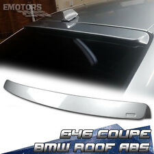 PAINTED BMW E46 3 SERIES 2DR COUPE A TYPE ROOF SPOILER ABS 99-05