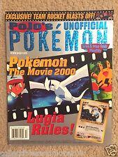 July 2000 Pojo's Pokemon News & Price Guide Monthly Magazine *RARE*VINTAGE*