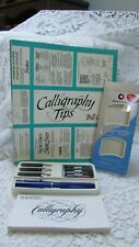 Sheffer Calligraphy Classic Pen, Nibs, and Ink, Calliigraphy Tips Book
