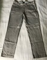 Worn Once J. Crew Sz 34x30 Men's SUTTON BROKEN-IN CHINO Pants