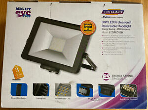 Timeguard LEDPRO50B 50W LED Professional Rewireable Floodlight - Black