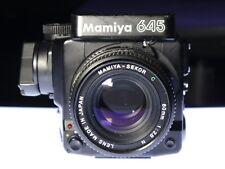 Mamiya M645 Super Medium Format SLR Body with 80mm Lens