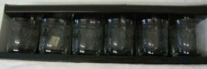 Set of 6 Pall Mall/Lady Hamilton Old Fashioned Whisky Glasses (Boxed/Unused)
