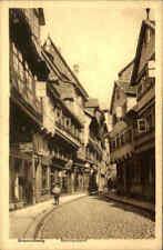 BRAUNSCHWEIG ~1925 Geschäft Ernst Ritter, Meinhardshof, Strassen Partie, Kind
