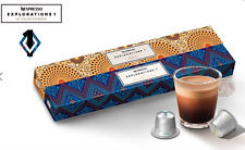 NESPRESSO 2017 EXPLORATIONS 1 LIMITED EDITION KENYA PEABERRY LAOS 20 CAPSULES