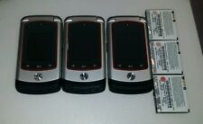 Lot of 3 Motorola Adventure V750 Cell Phone (Telus carrier)