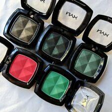 5 NYX Green/Gold/Red (3 Core & 2 Rare/HTF) Eye Shadow Singles