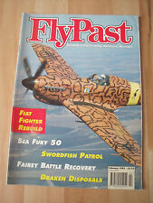 FLY PAST MAGAZINE FEB 1995 - SWORDFISH, SF DRAKEN DISPOSAL, SEA FURY + MUCH MORE