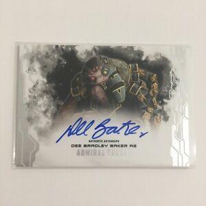 Star Wars Masterwork Autograph Card Dee Bradley Baker - Trench Auto Topps 2017