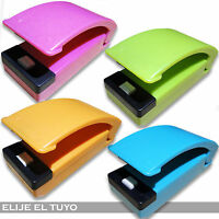 SELLADORA SELLADOR CALOR TERMICO DE BOLSAS PLASTICAS PORTATIL HEAT SEALER FOOD