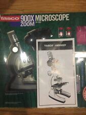 TASCO  50x-900x Zoom Microscope Kit NIP 1997 With Storage Case