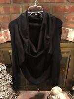 VALERIE STEVENS Black Long Sleeve Turtleneck Top Womans Plus Size 3X