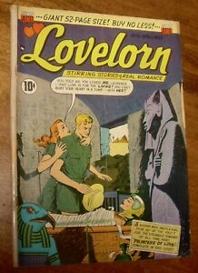 LOVELORN comics #5 scarce ACG pre-code romance love The Girl Without a Past