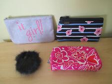 IT Girl Cosmetic Bag Joda MakeUp Pouch Clinique Kipling Gorilla Keyring VGC