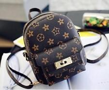 Women's Faux Leather Small Mini Backpack Rucksack Cute bag Purse Casual