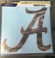 University of Alabama Large Camo Script A Decal