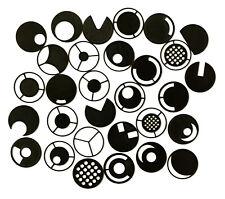 28x Dunkelfeldblende / Schrägbeleleuchtung 25 mm Mikroskop Dunkelfeld XXL Set