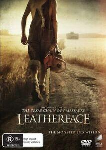Leatherface (DVD, 2018) Australian Stock