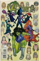 A-Force #1 Victor Ibanez Variant 1:25 She Hulk Captain Marvel Thor 2016