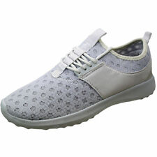 Wedge Patternless Unbranded Textile Trainers for Women