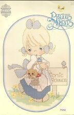 VINTAGE PRECIOUS MOMENTS CROSS STITCH PATTERN BOOKLET--1988