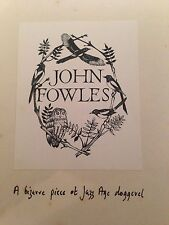 Joseph Moncure March - The Wild Party - John Fowles Copy with handwritten note