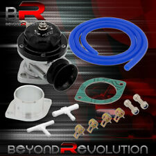 Light Weight Performance Blow Off Valve Bov Black 2 Bolt Weld On Flange Pipe Fits 2003 Mustang
