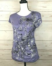 Thyme Maternity  Purple Top, Size P/S,