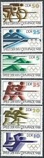 DDR MiNr 3183/8, Olymp. Sommersp. Seoul, postfrisch, 1988