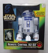 Star Wars Power of the Force Electronic REMOTE CONTROL R2-D2 w/ lights & sounds