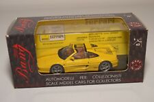 V 1:43 BANG 8029 FERRARI 355 GTS ROAD STREET YELLOW MINT BOXED