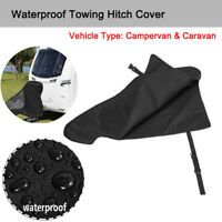 Universal Waterproof Caravan Hitch Cover Hook Connector PVC Cover For Campervan