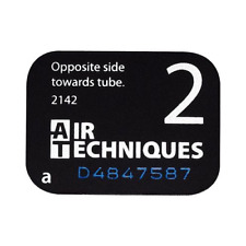 Air Techniques 73445-2 ScanX Intraoral Phosphor Dental Plates Size #2 4/Pk