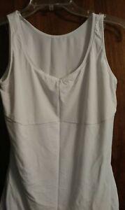 Ladies XLG MAIDENFORM Comfort Devotion White Undershirt/ cami