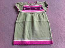 BNWT Gymboree Green Fine Knit Short Sleeve Dress 12-18 Months