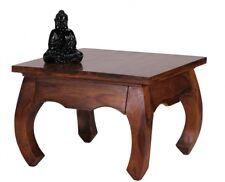 Table basse massivholztisch Opus 60x60 cm bois sheesham