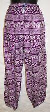 Nuevos Pantalones Hippy 10 12 14 Hippy Étnico Boho Alí Babá Festival ética de la India
