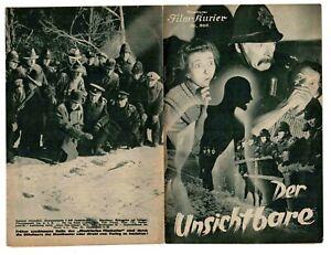 THE INVISIBLE MAN 1933,  Claude Rains, Gloria Stuart (German Kurier) #800